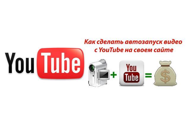 Автоматический запуск видео